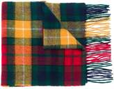 Barbour classic highland check scarf
