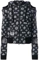 Kokon To Zai logo embroidered hooded sweater
