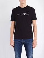 Armani Jeans 1981 cotton-jersey t-shirt