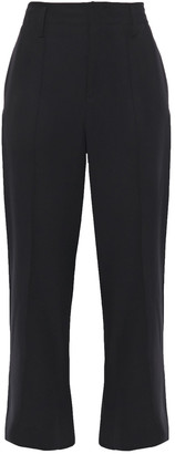 Vince Cropped Jersey Straight-leg Pants