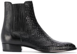 Saint Laurent Wyatt 30mm ankle boots