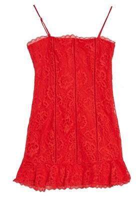 Lovers + Friends Elizabeth Lace Dress