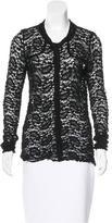 Etoile Isabel Marant Lace Round Neck Cardigan