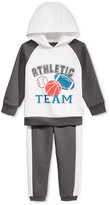 Nannette 2-Pc. Colorblocked Hoodie & Pants Set, Little Boys (2-7)