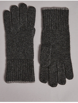 M&S Collection Pure Cashmere Knitted Gloves