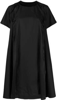 Sacai A-line T-shirt dress