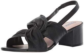 Tahari Womens Galiana Knotted Heeled Sandal M