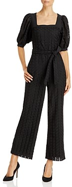 Lini Willa Belted Eyelet Jumpsuit - 100% Exclusive