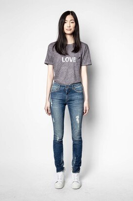 Zadig & Voltaire Amber Word T-Shirt