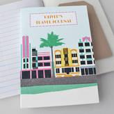 Sukie Travel Journal Miami Deco Personalised
