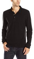 Threads 4 Thought Men's Blake Long-Sleeved Polo Shirt