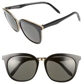 Victoria Beckham Women's Victoria, Combination Classic 56Mm Sunglasses - Amber Tortoise Shell