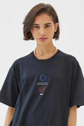 Fila Voyager Collection UO Exclusive Born To Shine T-Shirt Dress