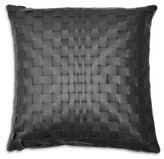 Fendi Casa Woven Leather Pillow