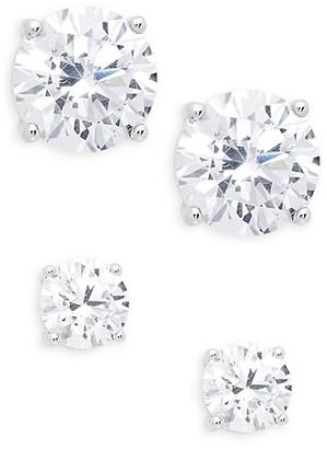 Adriana Orsini 2-Piece Crystal Stud Earring Set