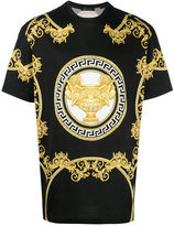 Versace logo T-shirt - men - Cotton - XL