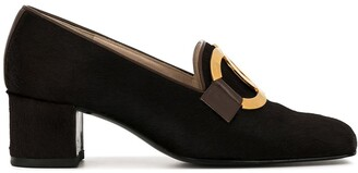 Chanel Pre Owned CC heeled loafers
