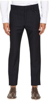 Vivienne Westwood Pinstripe Wool Classic Trousers Men's Casual Pants
