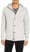 Victorinox Men's Engine Hooded Button Cardigan