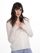 White + Warren Essential Cashmere V Neck Cardigan