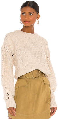 Shona Joy Camille Cable Cocoon Sleeve Jumper