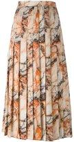 Christopher Kane marble print skirt - women - Silk - 38