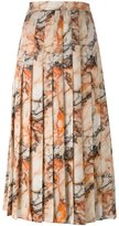 Christopher Kane marble print skirt - women - Silk - 42
