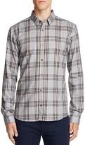 HUGO Ero Plaid Slim Fit Button Down Shirt