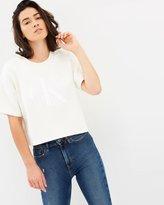 Calvin Klein Jeans Reverse Fleece Sweat Tee