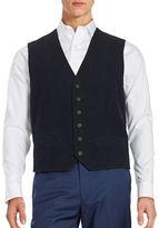 Black Brown 1826 Button-Front Vest