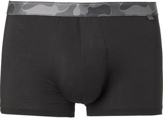 Derek Rose Stretch-Cotton Boxer Briefs - Men - Black