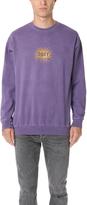 Obey Spazz Long Sleeve Crew Sweatshirt