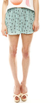 Audrey 3+1 Cross Print Shorts