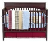 Bacati Stripes and Plaids 4 Piece Crib Bedding Set