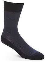 HUGO BOSS David RS Design Herringbone Crew Socks