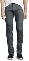 Diesel Thavar Skinny-Leg Jeans, Medium Gray