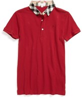 Burberry Boy's 'William' Cotton Polo