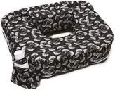 My Brest Friend My Best Friend Twin Nursing Pillow Slipcover Flowing Fans, Black, White