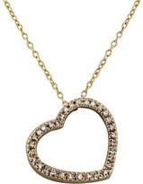 Effy Jewelry 14K Rose Gold Diamond Heart Pendant, .16 TCW