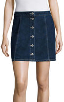 Arizona Button-Front Skirt - Juniors