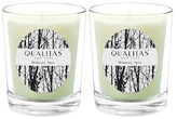 Qualitas Candles Mimosa Tree Beeswax Candles (Set of 2) (6.5 OZ)
