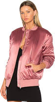 Lovers + Friends x REVOLVE My Lover Bomber in Rose. - size L (also in M,S,XS)