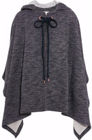 See by Chloe Hooded Jersey Cape - Navy