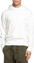 Vince Men's Distressed Pullover Hoodie
