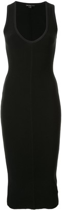 James Perse fitted sleeveless dress