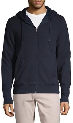 Michael Kors Faux Fur-Lined Full-Zip Hoodie