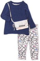 Juicy Couture Toddler Girls) Two-Piece Purse Tunic & Leggings Set