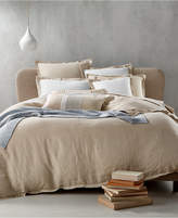 Hotel Collection Linen Natural Full/Queen Duvet Cover