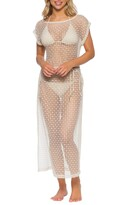 Isabella Collection Rose Milan Crochet Cover-Up Dress