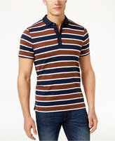 Michael Kors Men's Striped Pima Cotton Polo